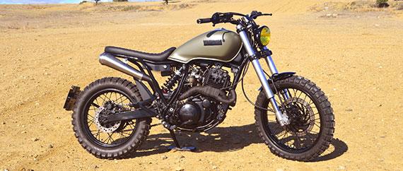 Yamaha XT Scrambler cover