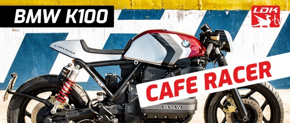 BMW K100 Cafe Racer cover