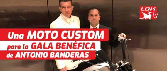 Una Harley Custom Bobber para la gala benéfica de Antonio Banderas