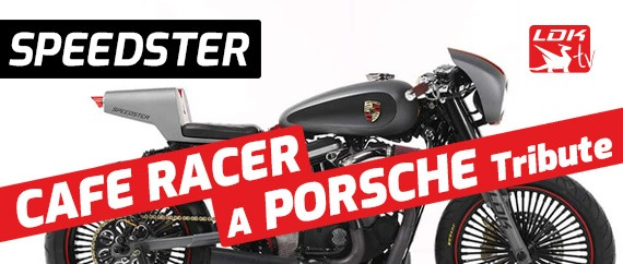 Speedster - Cafe Racer - a Porsche tribute