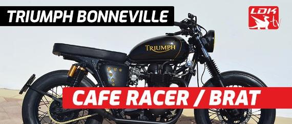 Triumph Bonneville Cafe Racer Brat
