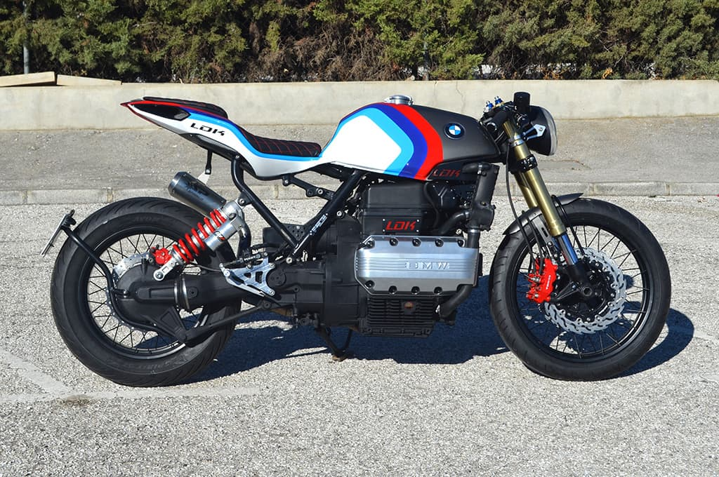 Custom Bmw K1 Cafe Racer Lord Drake Kustoms