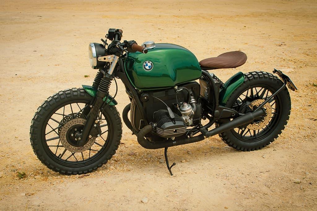 BMW R100 Green