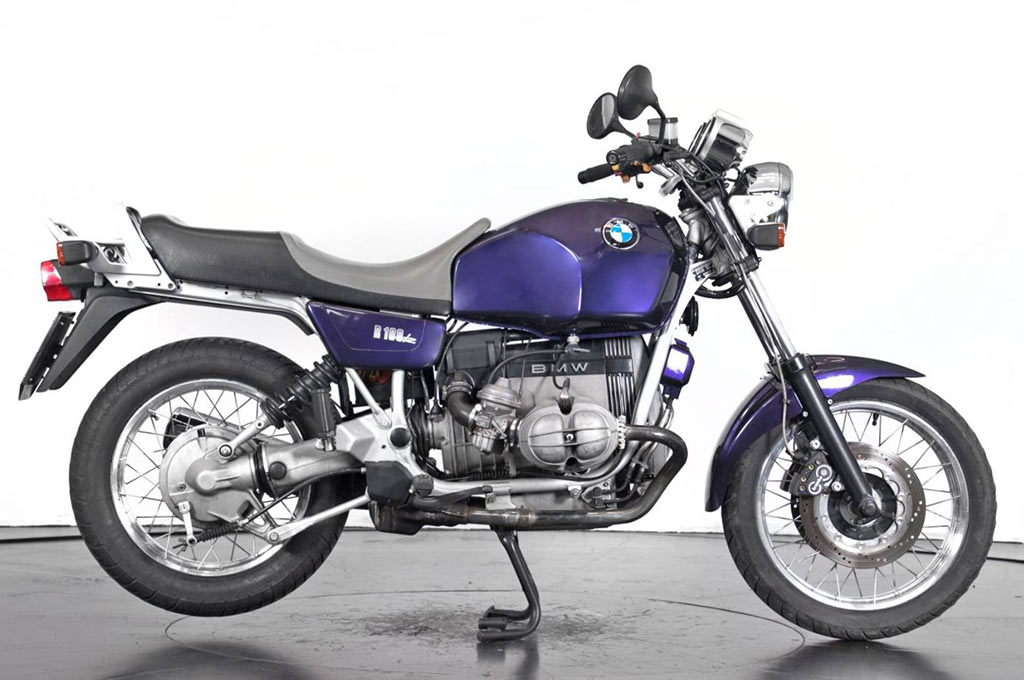 BMW R100R before the customization by Lord Drake Kustoms