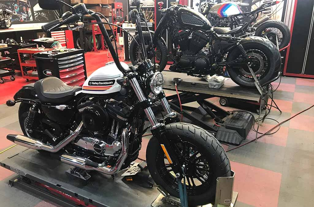 News from our Harley Davidson workshop in Malaga