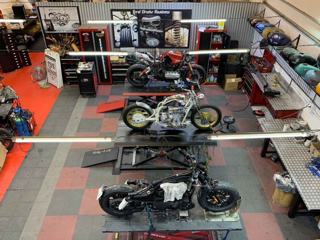 Lord Drake Kustoms is the best motorcycle workshop