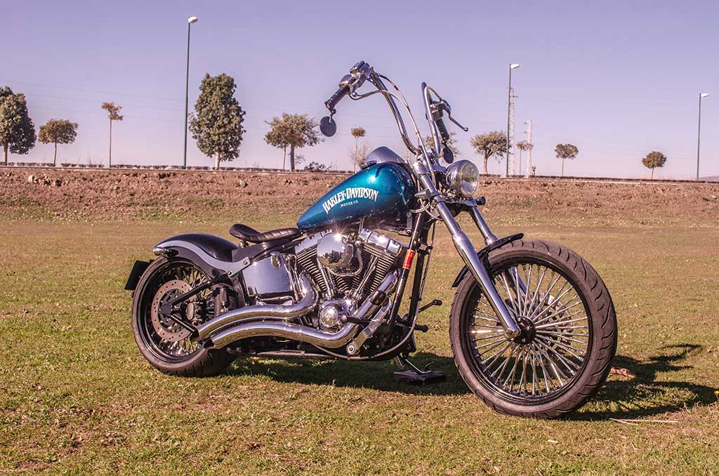 Harley Softail Deuce Bobber de Lord Drake Kustoms