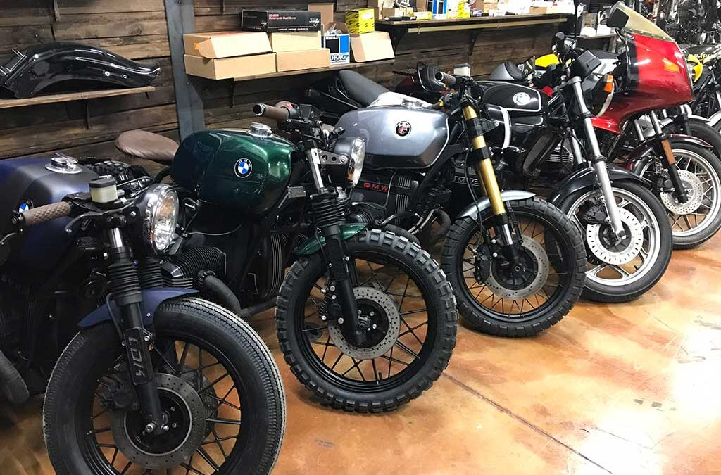Transformation and modification of BMW motorcycles