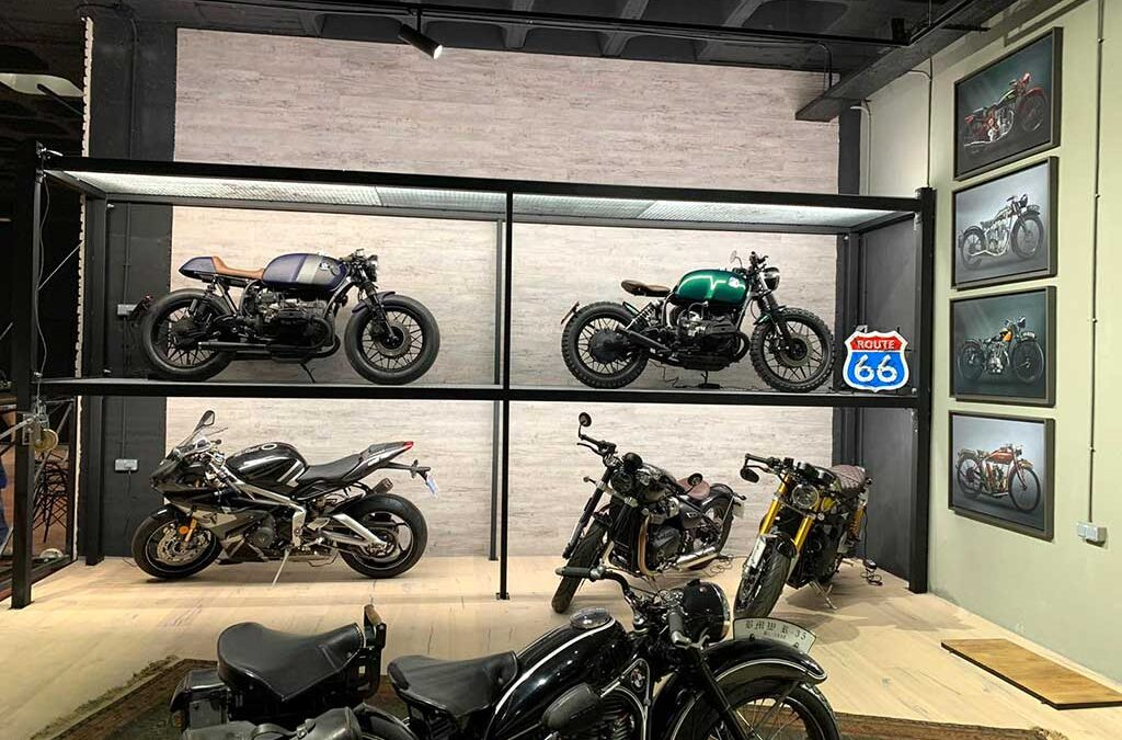 New Cafe Racer Workshop in Madrid: the capital of Spain