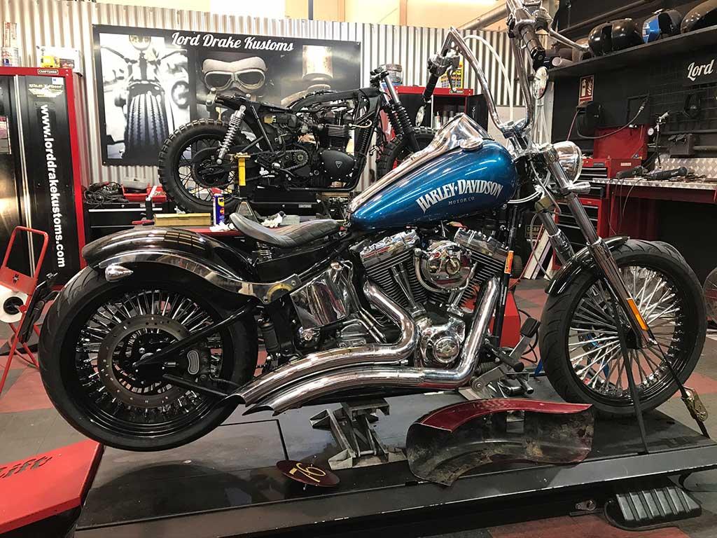 Del concesionario Harley al taller LDK