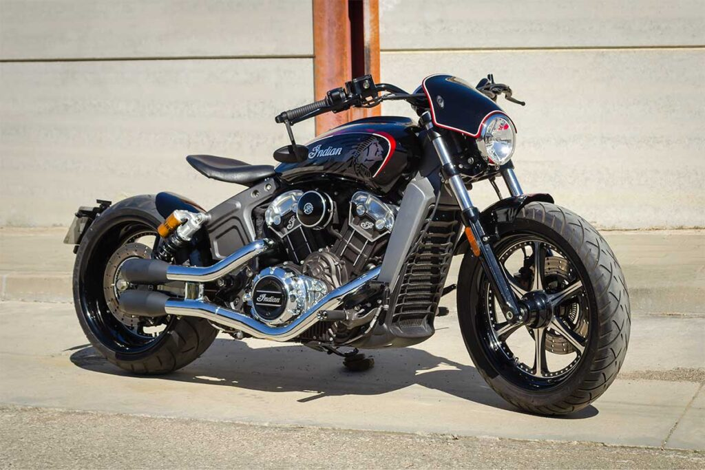 LDK Indian Bobber Right Side View