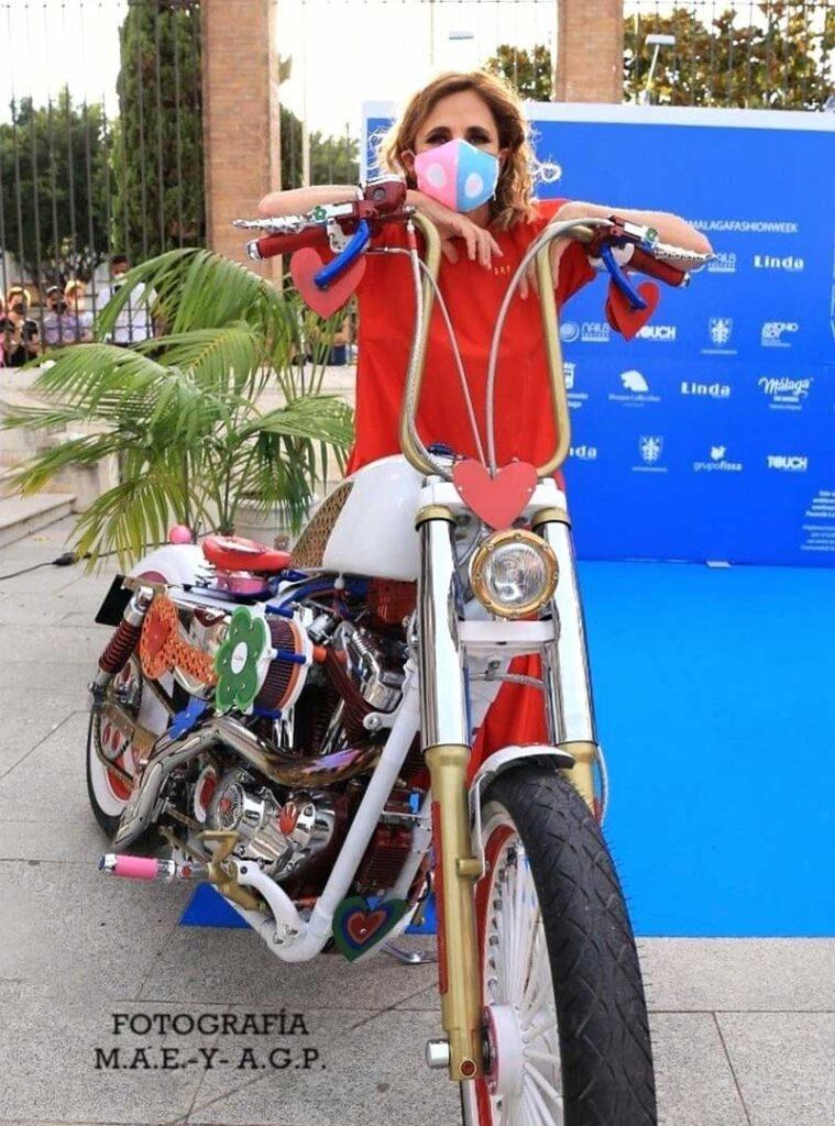 Ágatha Ruiz de la Prada and the Harley Agathizada