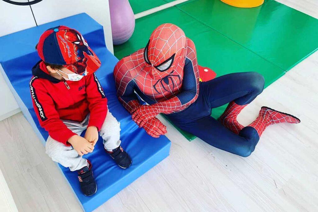 Spiderman at the Olivares Foundation