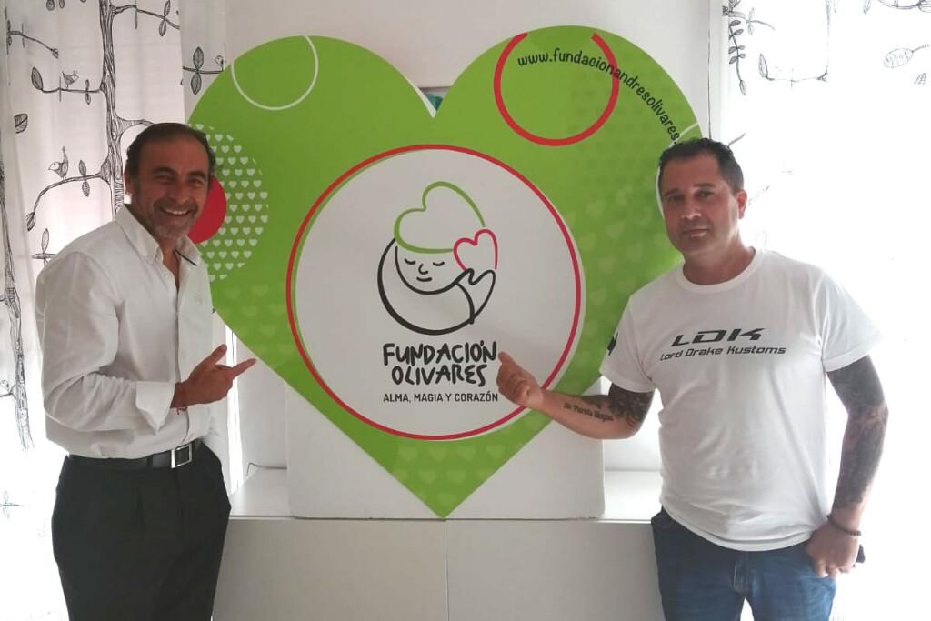 Andrés Olivares and Fran Manen