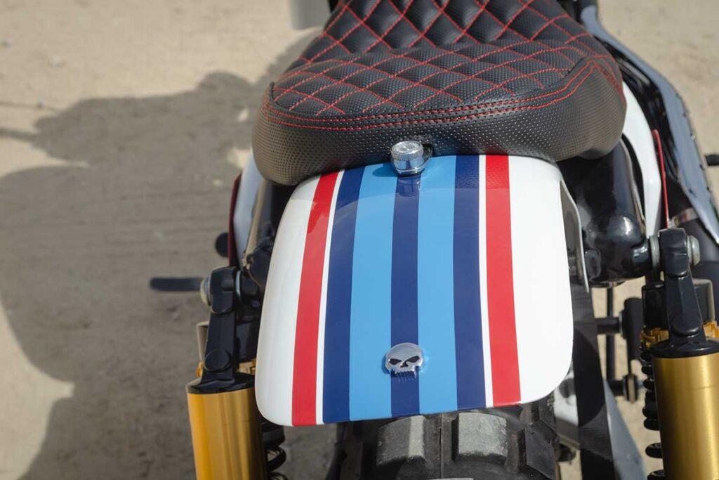 Rear fender detail